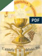 Cartel del Congreso Eucarístico 1946