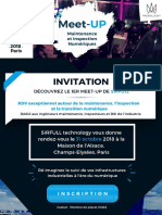 Invitation Meet-UP, Paris, 31-10