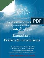 Ramadan Prieres Invocations