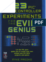 123 PIC Microcontroller Experiments for the Evil Genius (Mike Predko).pdf