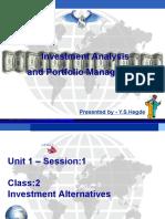 Presentation - Part 1 - YS Hegde - Class 2 (1)