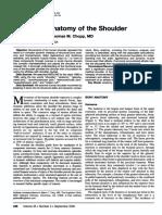 Functional Anatomy Shoulder