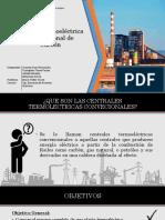 Central Termoeléctrica Convencional de Carbón