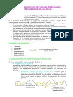 TEMA 1. Introducción Al Sondeo. Perforabilidad Del Suelo