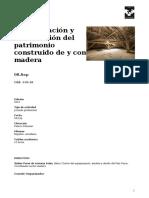 Cursos de Verano UPV_EHU - Rehabilitación y Restauración Del Patrimonio Construido de y Con Madera - 2016-10-10