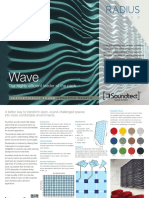 Soundtect Recycled Wave Wall Acoustic Panel Brochure