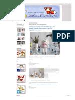 Denizas Toys Joys_ Bunny Egg Cozy. Free Knitting Pattern