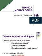 Tehnoca Morfologice