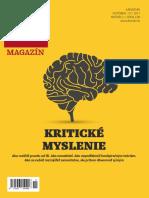 Kritické myslenie - príručka Denníka N