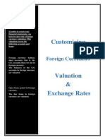 Foreign currency valuation