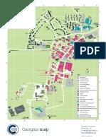 Cranfield University Campus Map