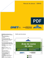 Manual de Placa de Obras - DNIT