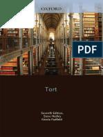 (Core Text Series) Stephen Hedley - Tort-Oxford University Press (2011)
