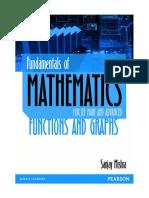 (Fundamentals of Mathematics) Sanjay Mishra - Fundamentals of Mathematics_ Functions and Graphs-Pearson India (2016)