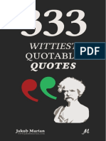 333 Wittiest Quotable Quotes