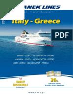 Italy - Greece 2019 - Anek Lines