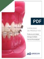 American Orthodontic  Catalogo Spanish
