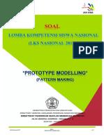 4. ( Cover ) SOAL Prototype Modelling LKS 2017