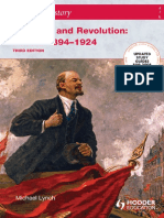 (Access to History) Michael Lynch - Access to History. Reaction and Revolution_ Russia 1894-1924-Hodder Education (2004)