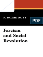 Fascism and Social Revolution (1936) - R. Palme Dutt