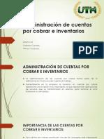 Administración de Cuentas Por Cobrar e Inventarios