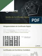 Certificados em Escritórios de Contabilidade