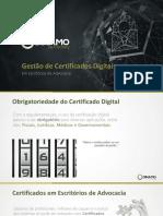 Certificados Em Escritórios de Advocacia