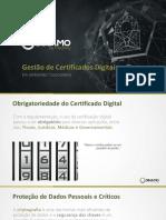 Certificados e Chaves Na Indústria