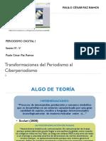 Transformaciones Del Periodismo Al Ciberperiodismo I-II