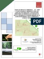 1estudio de Impacto Ambiental Ex e28093 Ante Para La Concesic3b3n Minera Cinco Hermanos