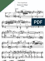 Haydn - Piano Sonata No 48 in C