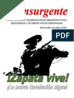 INSURGENTE ZAPATA VIVE