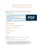 Cómo Activar Aplicaciones de Microsoft Office