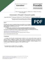 1. Determinan of Financial Liquidity