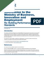Building Performance Standards