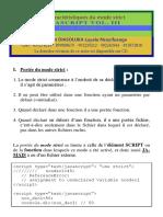 Javascript_tome_iii - Qqs Caractéristiques Du Mode Strict