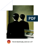 Non Serviam, Issues 1-17