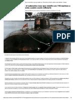 La Tragedia Del Kursk, El Submarino Rus...Rdo- Cuánto Costó Reflotarlo - Infobae Artículo