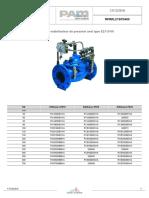 RPRRL21SPD400-Reducteur Stabilisateur Pression Aval Type E2115-00