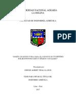 Caracterización y Clave de Identificación de Bambúes en El Ámbito Chanchamayo, Departamento de Junín, Perú