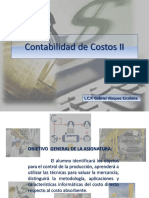 104000276 Contabilidad de Costos II