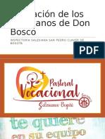 Formación de Los Salesianos de Don Bosco