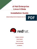 Red Hat Enterprise Linux 6 Installation Guide en US
