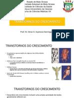 1 aula - Malformação da medula espinal
