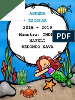 AgendaEscolarSirenita2018-2019MEEP