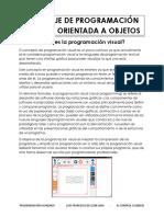 Lenguaje de Programación Visual y Orientada a Objetos