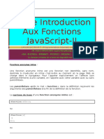 Petite Introduction Aux Fonctions JavaScript-II