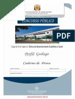 Tecnico de Desenvolvimento Economico e Social Geologo