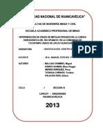 CÓMO AFECTA LA PRESENCIA DE METALES PESADOS EN LA CUENCA DEL RIO OPAMAYO EN EL ANEXO DE CARHUAPATA.docx