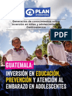 Gt - Prevencion Embarazo - Plan Icefi
